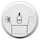 Front-Load Smoke Alarm w/Mounting Bracket, Hush Feature KID09769997