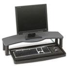 Comfort Desktop Keyboard Drawer With SmartFit, 26w x 13-1/2d, Black/Gray KMW60006