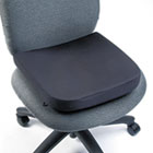 "Memory Foam Seat Rest, 13-1/2""w x 14 1/2""d x 2""h, Black KMW82024"