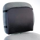 """Memory Foam Backrest, 16""""w x 12""""d x 16""""h, Black KMW82025"""