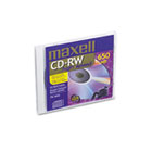 CD-RW Discs, 700MB/80min, 12x, w/Jewel Cases, Gold, 1/Pack MAX630020