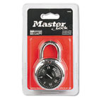 """Combination Lock, Stainless Steel, 1 15/16"""" Wide, Black Dial MLK1500D"""