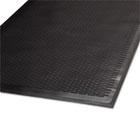 Clean Step Outdoor Rubber Scraper Mat, Polypropylene, 36 x 60, Black MLL14030500