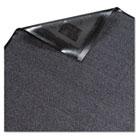 Platinum Series Indoor Wiper Mat, Nylon/Polypropylene, 36 x 60, Gray MLL94030530