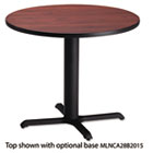 "Bistro Series 30"" Round Laminate Table Top, Mahogany MLNCA30RTRMH"