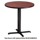 "Bistro Series 36"" Round Laminate Table Top, Mahogany MLNCA36RTRMH"