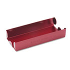 Rolled Coin Aluminum Tray w/Denomination & Quantity Etched on Side, Red MMF211010107