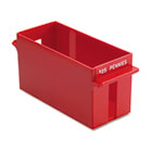 Porta-Count System Extra-Capacity Rolled Coin Plastic Storage Tray, Red MMF212070107