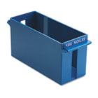 Porta-Count System Extra-Capacity Rolled Coin Plastic Storage Tray, Blue MMF212070508