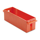 Porta-Count System Extra-Capacity Rolled Coin Plastic Storage Tray, Orange MMF212072516