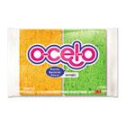 O-Cel-O Sponge w/3M Stayfresh Technology, 4 7/10 x 3 x 3/5, 4/Pack MMM7274T
