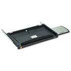 Under Desk Keyboard Drawer, 23w x 14d, Black MMMKD45