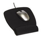 Foam Mouse Pad w/Wrist Rest, Nonskid Base, 6-7/8 x 8-5/9, Black MMMMW209MB