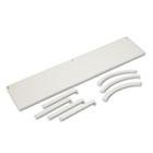Versé Panel System Hanging Shelf, 60w x 12-3/4d, Gray BSXVSH60GYGY