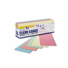 Blank Flash Card Dispenser Boxes, 9w x 3h, Assorted, 250/Pack PAC74150