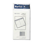 Recycled Monthly Planner Refill, 3-1/2 x 6-1/8, 2015-2016 AAG7090610