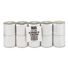 """Paper Rolls, Credit Verification, 2 1/4"""" x 70 ft, White/Canary, 10/Pack PMC09325"""
