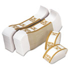 Self-Adhesive Currency Straps, Mustard, $10,000 in $100 Bills, 1000 Bands/Pack PMC55010