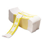 Color-Coded Kraft Currency Straps, $10 Bill, $1000, Self-Adhesive, 1000/Pack PMC55031