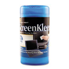 ScreenKleen Monitor Screen Wet Wipes, Cloth, 5 1/4 x 5 3/4, 50/Tub REARR1491