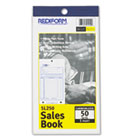 Sales Book, 3 5/8 x 6 3/8, Carbonless Triplicate, 50 Sets/Book RED5L250