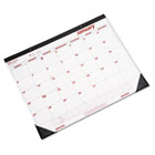 Desk Pad/Wall Calendar, Chipboard, 21-3/4 x 17, 2014 REDC1731