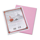 Riverside Construction Paper, 76 lbs., 9 x 12, Pink, 50 Sheets/Pack PAC103591