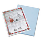 Riverside Construction Paper, 76 lbs., 9 x 12, Light Blue, 50 Sheets/Pack PAC103599