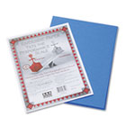Riverside Construction Paper, 76 lbs., 9 x 12, Blue, 50 Sheets/Pack PAC103600