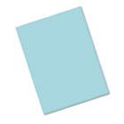 Riverside Construction Paper, 76 lbs., 9 x 12, Blue-Green, 50 Sheets/Pack PAC103602
