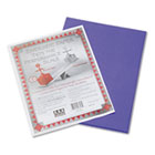 Riverside Construction Paper, 76 lbs., 9 x 12, Violet, 50 Sheets/Pack PAC103603