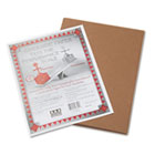 Riverside Construction Paper, 76 lbs., 9 x 12, Brown, 50 Sheets/Pack PAC103605