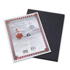 Riverside Construction Paper, 76 lbs., 9 x 12, Black, 50 Sheets/Pack PAC103607