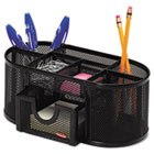Rolodex Mesh Oval Pencil Cup ROL1746466
