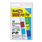 Removable Page Flags, Red/Blue/Green/Yellow/Purple, 10/Color, 50/Pack RTG76820