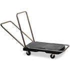"Utility-Duty Home/Office Cart, 250 lb Capacity, 20 1/2"" x 32 1/2"" Platform, BK RCP440000"