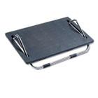 Ergo-Comfort Adjustable Footrest, 18-1/2w x 11-1/2d x 5h, Black SAF2105