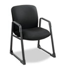 Uber Series Big & Tall Sled Base Guest Chair, Black SAF3492BL