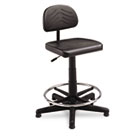 TaskMaster Series EconoMahogany WorkBench Chair, Black SAF5110