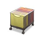 Onyx Mesh Mobile File Cube, 13-1/2w x 16-3/4d x 13h, Black SAF5211BL