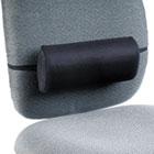 Remedease Lumbar Backrest, 11-1/2w x 2-1/2d x 5h, Black SAF71101
