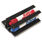 Magnetic Clip Eraser with Markers, Chisel, Assorted 3 Markers/Set SAN81503