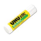 UHU Stic Permanent Clear Application Glue Stick, .74 oz SAU99649