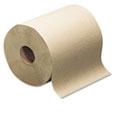 Hard-Roll Towels, Natural, 7 7/8 Wide x 350ft, 5.5 dia, 12 Rolls/Carton SCARK350A