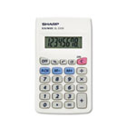 EL233SB Pocket Calculator, 8-Digit LCD SHREL233SB