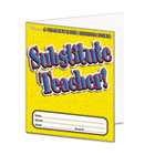 Substitute Teacher Essential Laminated Folder, PreK-6, 16 Pages SHS0439503930