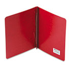 """Presstex Report Cover, Prong Clip, Letter, 3"""" Capacity, Executive Red ACC25079"""