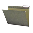Hanging Folders, Letter Size, 1/3 Tab, 11 Pt. Stock, Green, 25/Box SMD64035