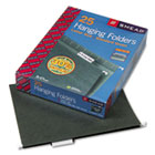 Hanging Folders, Letter Size, 1/5 Tab, 11 Pt. Stock, Green, 25/Box SMD64055
