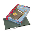 Hanging Folders, Legal Size, 1/3 Tab, 11 Pt. Stock, Green, 25/Box SMD64135